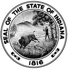Seal of the State of Indiana 1816